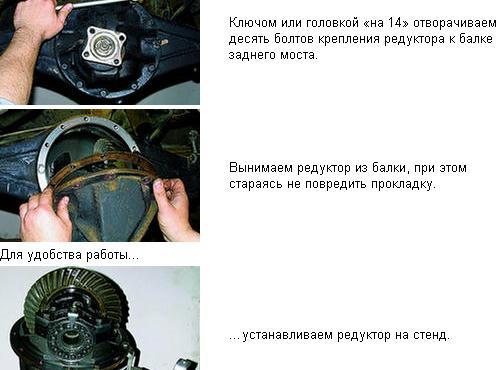 Разборка бортового редуктора Видео! - .